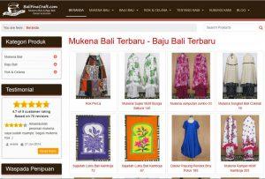balifinecraft.com - mukena bali & baju bali terbaru