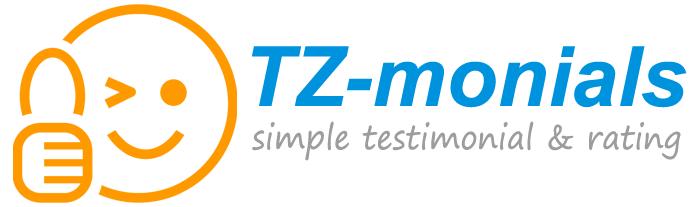 simple testimonial & rating